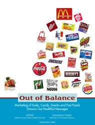 Out of Balance - National Education Policy Center
