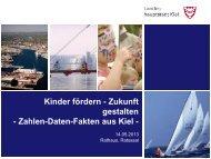 Präsentation am 14.05.2013 - Kieler Netzwerk gegen Kinderarmut