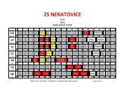 ZS NERATOVICE - HC Sparta Praha