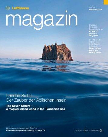 Land in Sicht! Der Zauber der Äolischen Inseln - Lufthansa Media ...
