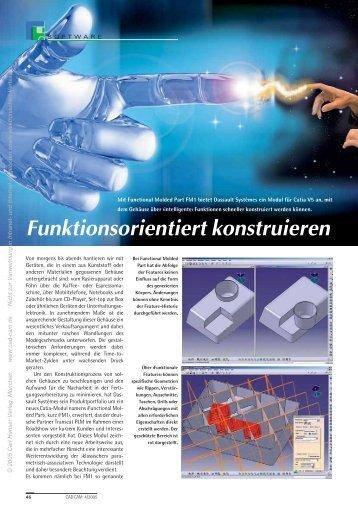 Funktionsorientiert konstruieren (110 KB) - Maschine + Werkzeug