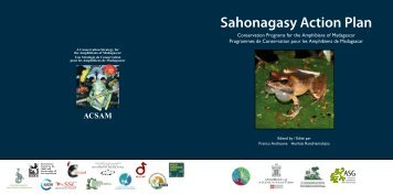Sahonagasy Action Plan Conservation Programs for the Amphibians ...