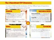 The 4 Recruitment EVP Dimensions - Universum Talent Networks