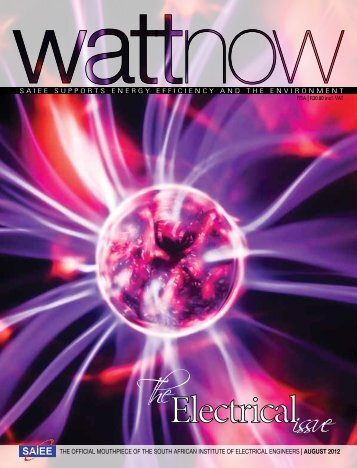 download a PDF of the full August 2012 issue - Watt Now Magazine