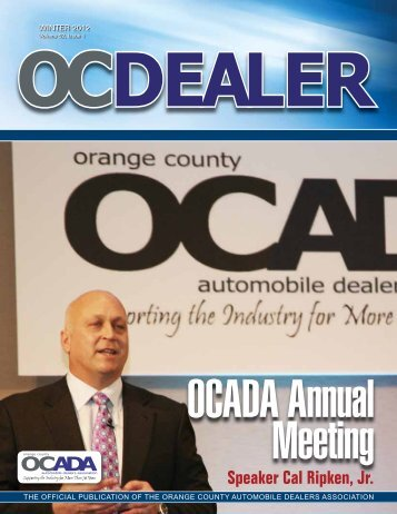 2012 - Orange County Automobile Dealers Association
