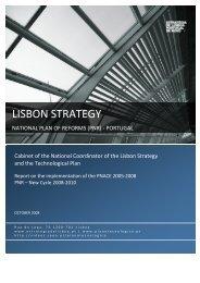 National reform programme 2008-2010 Portugal - European ...