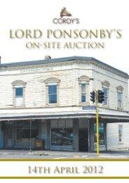 Lord Ponsonby's Lord Ponsonby's - Cordy's