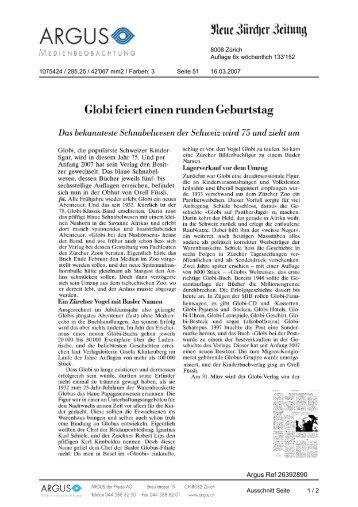 Giobi feiert einen runden Geburtstag - Globi Verlag