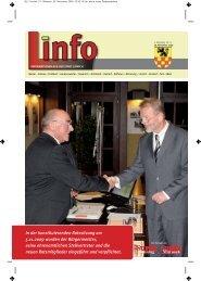 In der konstituierenden Ratssitzung am 5.11.2009 wurden ... - Linnich