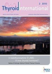 Download Thyroid International 2/2010 (pdf) - Thyrolink