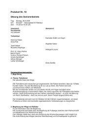Protokoll Nr - Markt Arnstorf