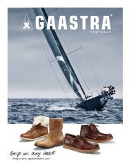 Gaastra Schuhe Magazine Winter 2012