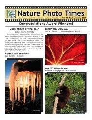 January, 2004 - Minnesota Nature Photography Club