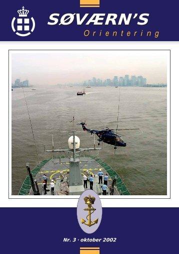 Søværnsorientering nr. 3 / 2002 - Marinehistorisk Selskab og ...