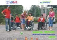 ANNUAL REPORT - Motivation Romania