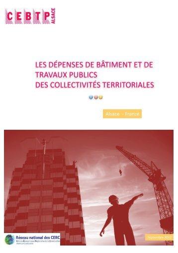 2009-2010 - Cellule Économique du Bâtiment et des Travaux ...