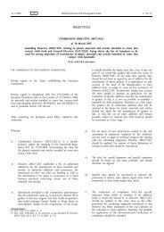 Commission Directive 2007/19/EC - EUR-Lex - Europa