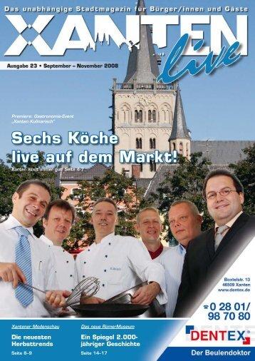 Xanten Kulinarisch - Xanten Live