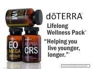 Lifelong Wellness Pack - dōTERRA - Essential Oils