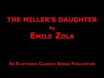 The Miller's Daughter - Penn State University