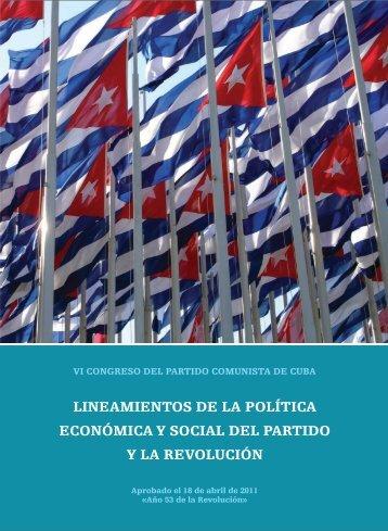Lineamientos de la Política Económica y Social del - Granma
