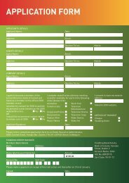 Membership Application Form - SDGI