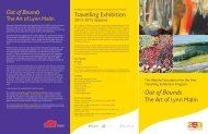 Out of Bounds (PDF 1.3 MB) - Art Gallery of Alberta