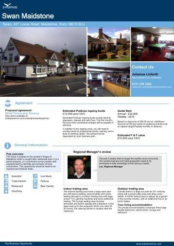 Swan Maidstone - Enterprise Inns