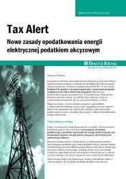 Nowe zasady opodatkowania energii elektrycznej podatkiem ...