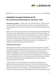 Textillogistik von Logwin: Knitterfrei ans Ziel - Logwin AG
