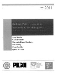 Building Police Capacity in Indonesia - Institute for National Security ...