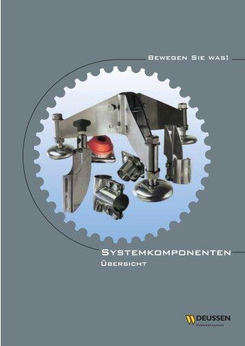 J.H. Deussen Söhne GmbH Übersicht Systemkomponenten Seite 1 ...