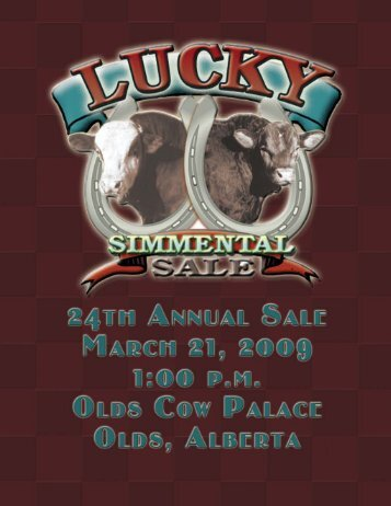 24th Annual Lucky Simmental Bull Sale - Transcon Livestock ...