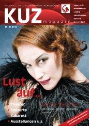 KUZ Magazin 01/02 - Kulturzentrum Burgenland