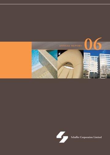 UrbanStone Annual Report 2006