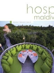 hospitality29 final.indd - Hospitality Maldives