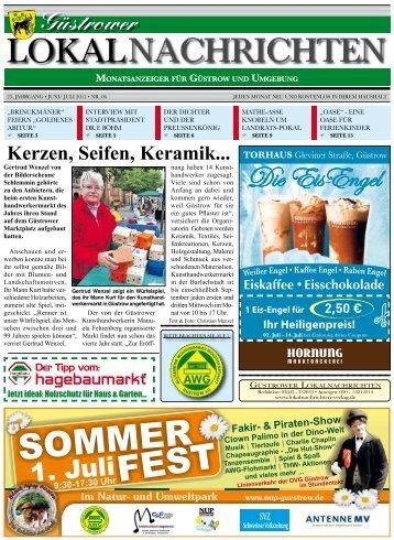 Güstrower Lokalnachrichten Nr. 06/2012 - Berliner Lokalnachrichten