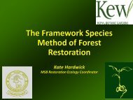 Framework species