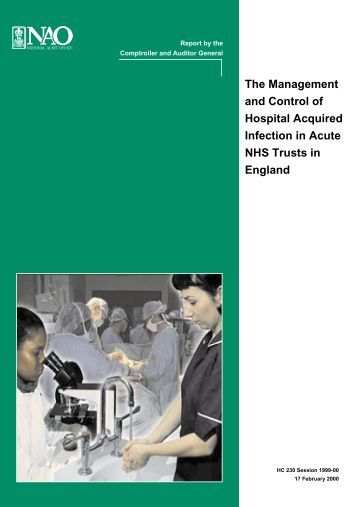The Management and Control of Hospital ... - Antibiotic Action