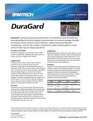 DuraGard - Spartech Corporation