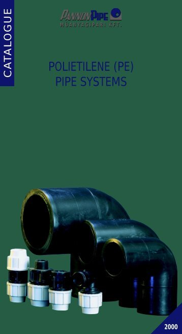 (pe) pipe systems catalogue (pannon pipe) - The Water, Sanitation ...