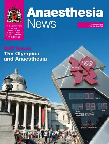 GAT Issue: The Olympics and Anaesthesia - aagbi