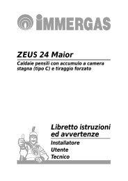 ZEUS 24 Maior - Immergas
