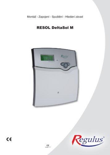 regulátor DeltaSol M - PRIMA - KLIMA Pardubice