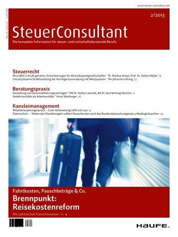 Inhalte des - Haufe.de