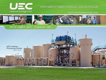 palangana isr project - Uranium Energy Corp.