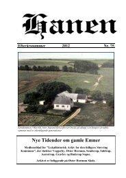 Hanen efterår 2012 - Støvring kommunes Lokalarkiv