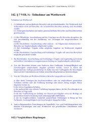 142. § 7 VOL/A - Teilnehmer am Wettbewerb - Oeffentliche Auftraege