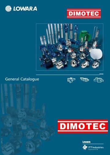 General Catalogue - Dimotec