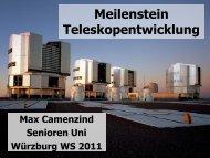 400 Jahre Astronomisches Teleskop